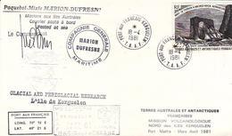 TAAF / PAQUEBOT MIXTE MARION DUFRESNE / MISSION VOLCANOLOGIQUE NORD KERGUELEN / N 59 - Terres Australes Et Antarctiques Françaises (TAAF)