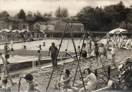 CPSM Dentelée - BLONDEFONTAINE (70) - Aspect De La Piscine Et Des Jeux D'Enfants En 1964 - France