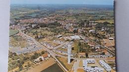 CPSM BUZANCAIS INDRE  VUE AERIENNE ED SOFER 1969 CHATEAU D EAU - Otros Municipios