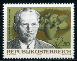Österreich - Michel 1534 - ** Postfrisch - Viktor Kaplan - Wert: 0,50 Mi€ - 1945-.... 2. Republik