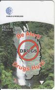 DOMINICA(GPT) - Be Alert Drugs Hurt, CN : 272CDMA, Tirage 20000, Used