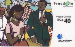 TARJETA DE DOMINICA DE $40 DE UNA PAREJA - Dominica