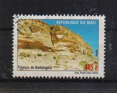 Mali 2003, 485 Francs, Rocks De Badiangara, Minr 2611, Vfu. Cv 2,80 Euro - Mali (1959-...)