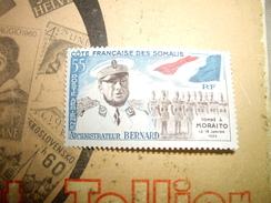 COTE Française  Des Somalis  Poste Aerienne 1960  Neuf*  55 Francs - Frans-Somaliland (1894-1967)