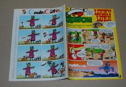 """Spirou 2117 09/11/1978 Couv Lucky Luke Par Morris + Sup 8 Pages, Kim Norton """"la Déesse Des Collines"""" Et 1 Page Sur Laraz - Spirou Magazine"""