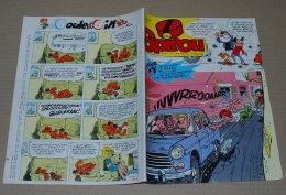 Spirou 2154 26/07/1979 Couv Sophie Par Jidehem + Sup Poster Double Face, Les Cable Cars De San Francisco Et La Studebake - Spirou Magazine