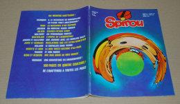 Spirou 2139 12/04/1979 Spécial Inattendu Couv Portrait De Spirou En Anamorphose Par Matagne (sans Supplément D'origine) - Spirou Magazine