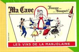 BUVARD & Blotting Paper : Ma Cave Les Vins De La MARJOLAINE - Liquor & Beer