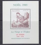 Zaire 1985 Christmas / Painting Titien M/s ** Mnh (35276G) Promotion - Zaïre