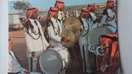 CPSM RIYADH THE NATIONAL GUARD MUSIQUE MUSICIENS - Saudi-Arabien