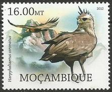 Mozambique 2012 - MNH - Chaco Eagle ( Buteogallus Coronatus - Arends & Roofvogels