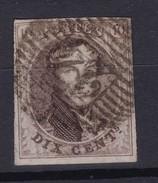 N° 10 A   Margé  Planche VI Position 75 - 1858-1862 Médaillons (9/12)