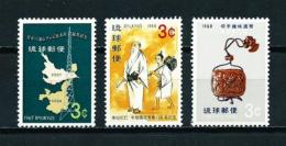 Ryu Kyu  Nº Yvert  162/4  En Nuevo - Ryukyu Islands