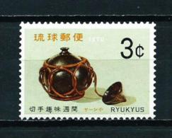 Ryu Kyu  Nº Yvert  185  En Nuevo - Ryukyu Islands