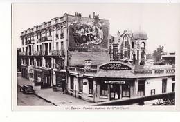 Berck-Plage : Avenue Du Général De Gaulle (Café De La Rotonde) / Editions Fauchois - Berck