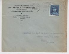 AGENCE MARITIME  De KEYSER THORNTON / ANVERS - Transport