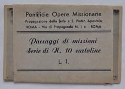 """LOTTO 7 CARTOLINE """"PAESAGGI DI MISSIONI"""" - Missioni"""