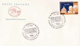 1995 ITALIA - 08 RELATI VITA'- FDC CAVALLINO - ANNULLO FIRENZE C.P. - 6. 1946-.. Repubblica