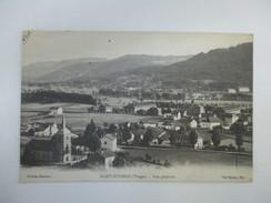 CPA 88 SAINT ETIENNE VUE GÉNÉRALE - Saint Etienne De Remiremont