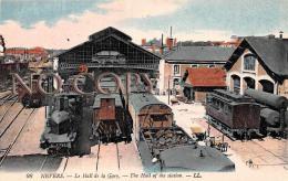 (58) Nevers - Le Hall De La Gare - Train Locomotive - Nevers