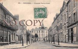 (58) Nevers - Avenue Saint St Just - Nevers