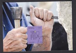 LIECHTENSTEIN 2017 MAXIMUM CARD. SEPAC 2017 - Trades And Crafts  Stonemason - Profesiones