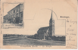 MÖRCHINGEN - Multivues - Maison Vve Cordier & Evangelische Kirche - Le Temple  PRIX FIXE - Morhange
