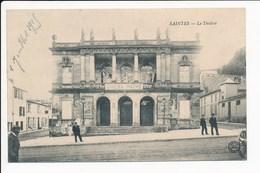 Carte De Saintes  Le Théâtre ( Cinéma Pathé )  ( Recto Verso ) - Saintes