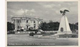 Colombia Barranquilla El Prado Monumento A Los Martires De Aviacion Real Photo - Colombia