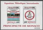 MONACO 2002 FEUILLET NON DENTELLE N°88  NEUF ** - Blocs