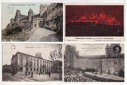 11  CARCASSONNE   Lot De 69 Cartes Postales Anciennes      1/3 Scannées - Carcassonne