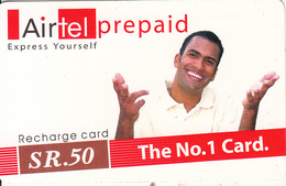 SEYCHELLES - Magic, AirTel Recharge Card SR50, Used - Seychellen