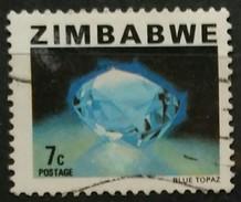 """ZIMBABWE 1980 Issues Of 1978 Of Rhodesia And New Value Inscribed """"ZIMBABWE"""". USADO - USED - Zimbabwe (1980-...)"""