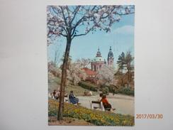 Postcard Praha Church Of St Nicholas From The Seminar Garden Used 1967 Stamp To UK My Ref B2852 - Czech Republic