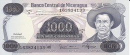 BILLETE DE NICARAGUA DE 500000 CORDOBAS DEL AÑO 1987 CON RESELLO (BANKNOTE) SIN CIRCULAR-UNCIRCULATED - Nicaragua