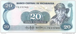 Nicaragua - Pick 152 - 20 Cordobas 1985 - Unc - Nicaragua