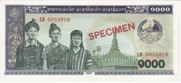 SPECIMEN BILLETE DE LAOS DE 1000 KIP DEL AÑO 1992 (BANKNOTE) SIN CIRCULAR-UNCIRCULATED (ESPECIMEN-MUESTRA) - Laos