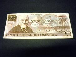 COSTA RICA 20 Colones 1982, Pick N° 238 C, COSTA RICA - Costa Rica