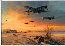 Militaria WW2 - The Long Short Days - Messerschmitt Bf109 Du III/JG26 De Retour De Mission En Février 1944 - 1939-45