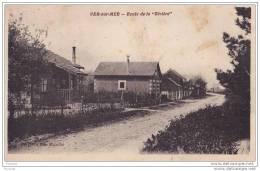 """14) Ver Sur Mer.- (Calvados) Route De  La  """""""""""""""" Rivière """""""""""""""" - France"""