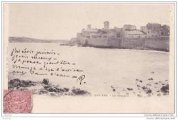 06) Antibes.-  Le  Château   - (oblitération De 1904) - Antibes