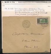1er VOL RAID PARIS VIA TOMBOUCTOU MISSION LEMAITRE*ARRACHART écrite Par ARRACHART 19/2/25 Seulement 3 Ex - Signature Exp - Airmail