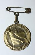 """WW2 - Beau Pendentif Suisse Guerre 1939/1945 Service Actif """"La Ville De Montreux à Ses Soldats"""" Médaille WWII - Médailles & Décorations"""