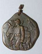 WW2 - Beau Pendentif Suisse Guerre 1939/1945 - Médaille WWII - Médailles & Décorations