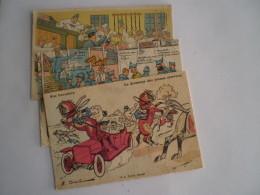Militair // France // Humor - Caserne Scenes /// 3 Diff. Cartes Lot 2  // 19?? - Humor