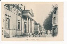 Carte De Gray  Palais De Justice  ( Recto Verso ) - Gray