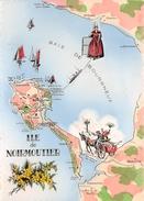 85 - Noimoutier - Carte Illustrée - Baie De Bourgneuf - Ile De Noirmoutier - Noirmoutier