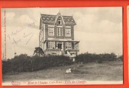 IBD-17   Orroir Mont De L'Enclus. Café-Hotel Villa Des Champs ANIME.  Cachet Mougies 1909 Pour Roubaix - Bélgica