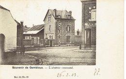 Souvenir De Gembloux L'abattoir Communal Café Des Bouchers  Vauderauwera 1903 - Gembloux