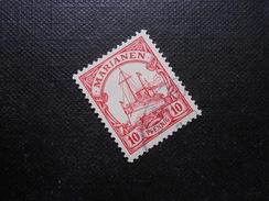 D.R.Mi 9 - 10Pf - Deutsche Kolonien ( Marianen ) 1901 - Mi € 5,00 - Colonie: Mariannes